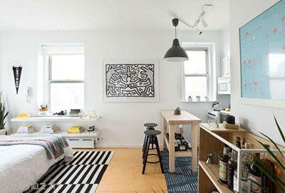 دکوراسیون برای آپارتمان های کوچک