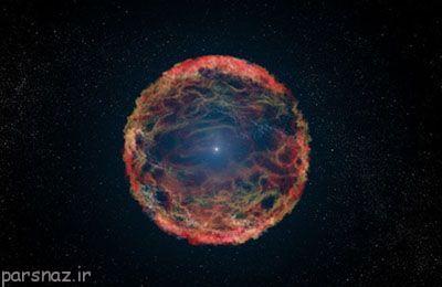انفجار ابرنواختر و انقراض موجودات زنده زمین