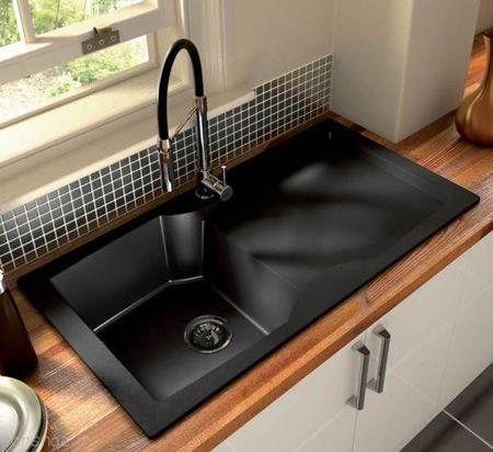 مدل های سینک ظرفشویی قهوه ای و مشکی