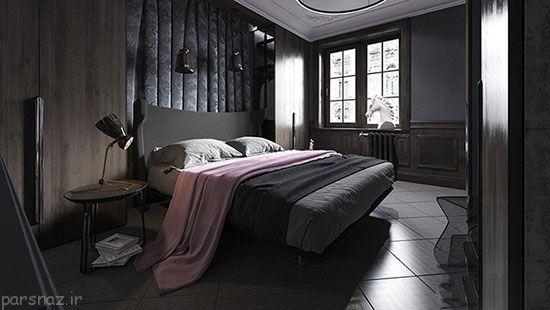 کاربرد رنگ تیره در دکوراسیون خانه