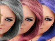 با استفاده از جواهرات رنگ مو را هم ست کنید