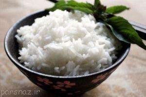 برنج را بصورت کته مصرف کنید
