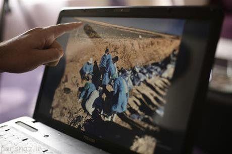گور دسته جمعی که داعش را ببینید