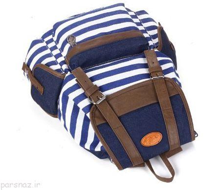 انواع کیف پسرانه برای مدرسه مدل جدید