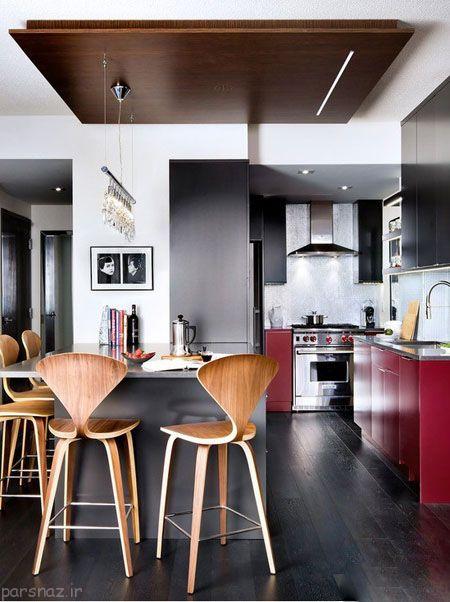 مدل کابینت مدرن زیبا برای آشپزخانه شما