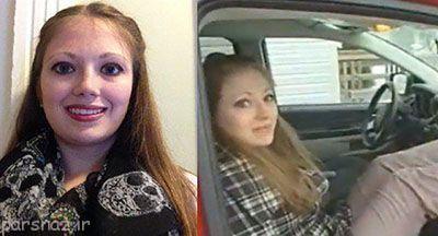 اتفاق عجیب برای این دختر در ماشین نامزدش