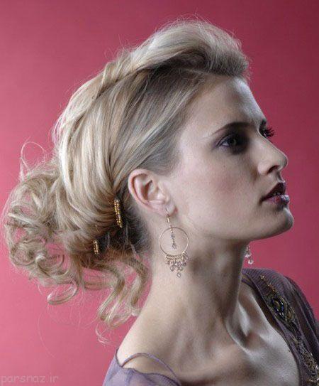 مدل موهای باز و بسته زنانه جذاب 2017