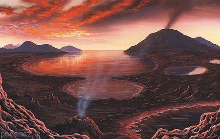 چگونگی پیدایش حیات و زندگی در زمین
