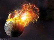 برخورد عظیم باعث بوجود آمدن ماه شده است
