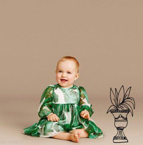 عکسهای مدل های لباس دخترانه بچه گانه و نوزادی
