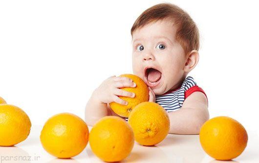 به فرزند خود پرتقال زیاد بدهید