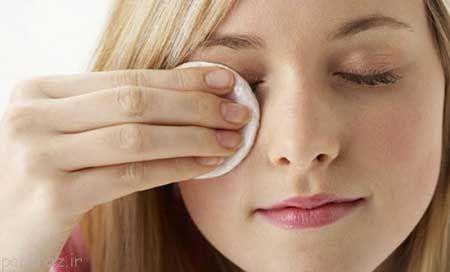 آرایش صورت خود را با مواد طبیعی پاک کنید