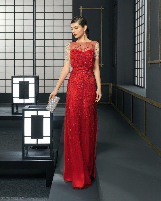 مدل های لباس مجلسی زنانه و دخترانه برند rosa clara