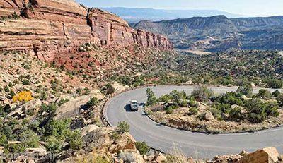 در این جاده ها رانندگی خود را محک بزنید