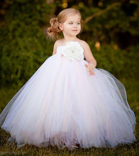 لباس عروس جدید مخصوص دختر بچه ها