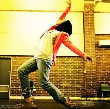 دختر مسلمان که رقاص باله است +عکس