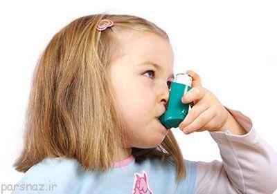آسم در کودکان و علایم اولیه آن