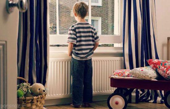 کودکان را نباید در خانه تنها بگذارید