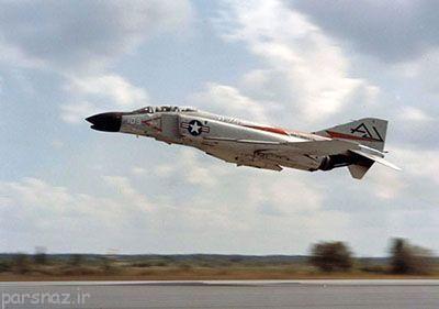 بهترین هواپیمای جنگنده تاریخ فانتوم F-4
