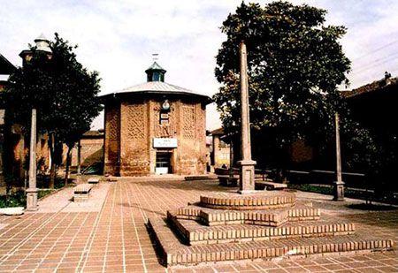 مقبره امامزاده نور در شهر گرگان