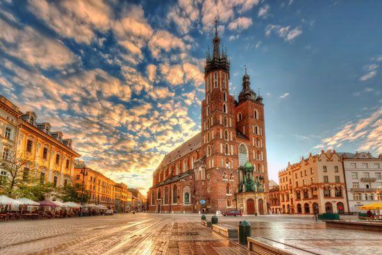 کراکوف شهر جادویی در لهستان