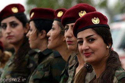راز آرایش دختران کرد در نبرد با داعش