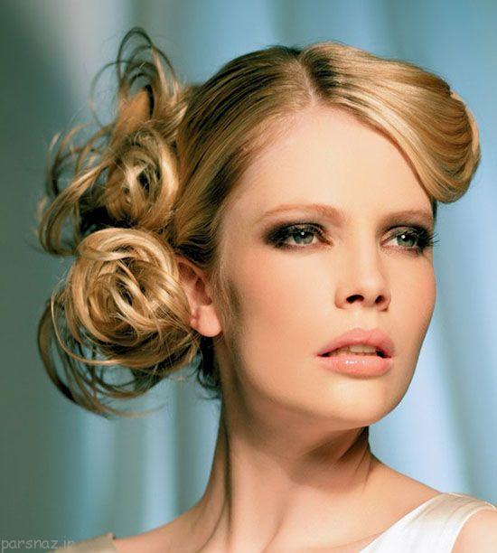 مدل موی زنانه مجلسی + شینیون جدید و زیبا