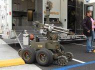 پلیس ربات در آمریکا و درگیری های مسلحانه