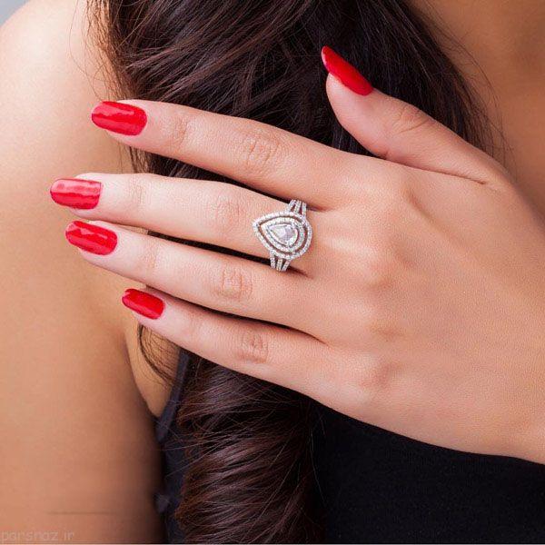 مدل های زیبای انگشتر شیک از برند Carat Crush