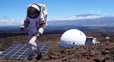جزیره شبیه سازی شده به مریخ در زمین