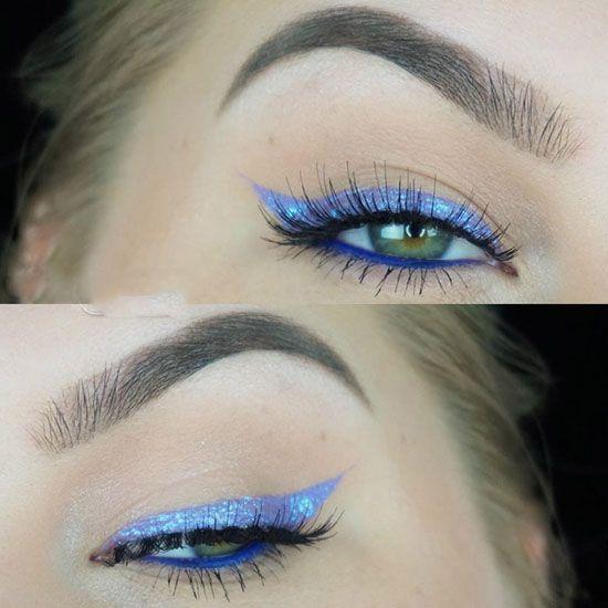 مدل های سایه چشم و مدل آرایش چشم از Haley Myers