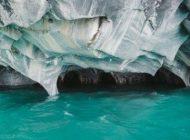 غارهایی از جنس مرمر در کشور شیلی