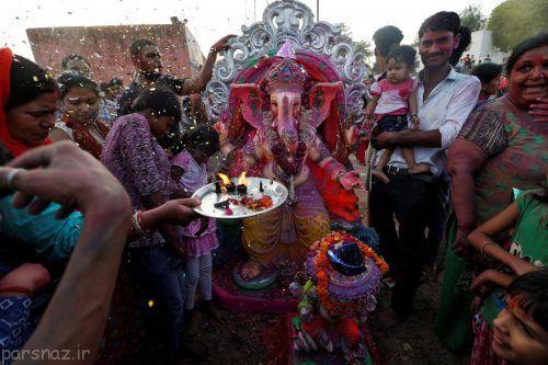 فستیوال جشن گانش خدای هندو