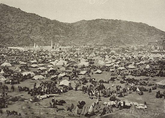 عکس های قدیمی از مکه و حج مسلمانان