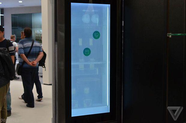 روی یخچال ال جی ویندوز 10 نصب شده است