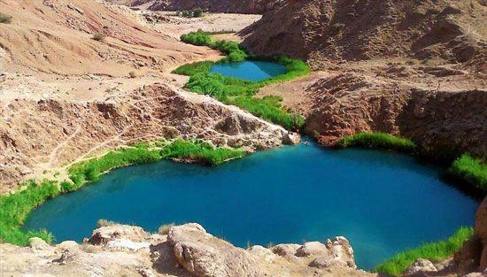 تالاب ها و دریاچه های زیبای ایران را ببینید