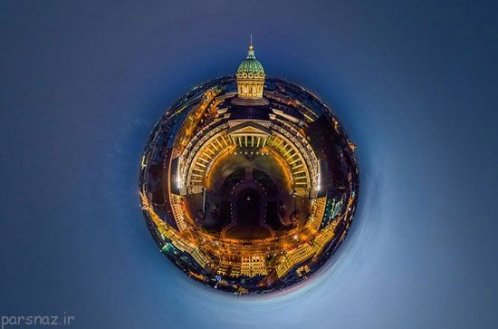 عکس های پانورامیک از شهرهای معروف دنیا