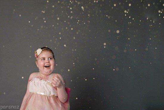 قهرمانان کوچک در نبرد با سرطان +عکس