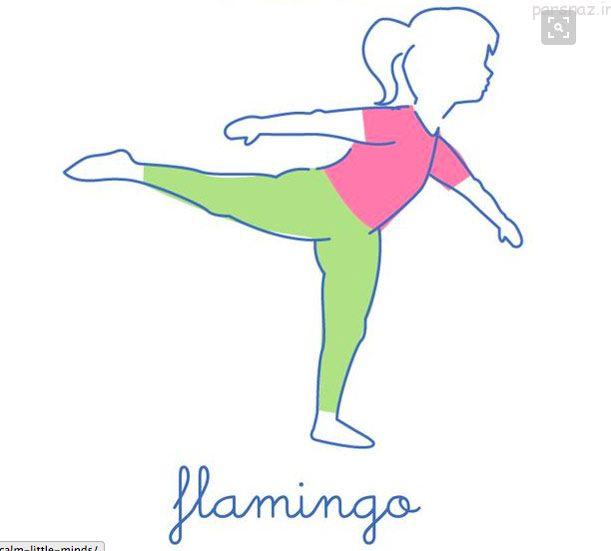 آرامش ذهن کودک با این حرکات یوگا