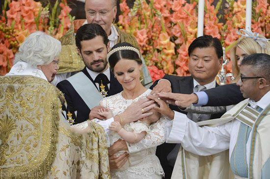 عضو جدید خانواده سلطنتی سوئد و غسل تعمید