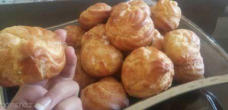با هم نان خامه ای خوشمزه درست کنیم