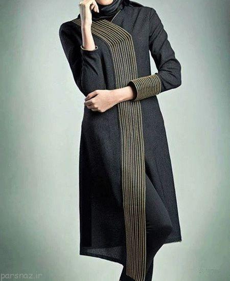 مدل مانتو دانشجویی - برای سال جدید