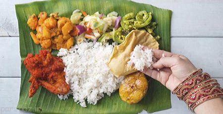 غذا خوردن جالب مردم هندوستان