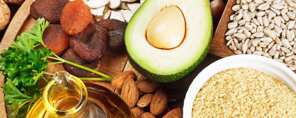 سلامت و شادابی پوست با تغذیه درست