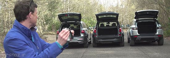رقابت سه خودرو شاسی بلند جمع و جور
