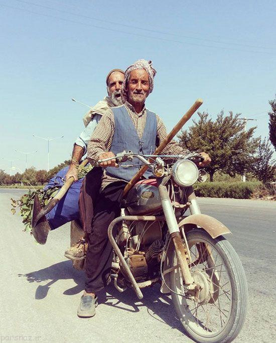 عکس های مردم سرزمین ایران جالب و دیدنی
