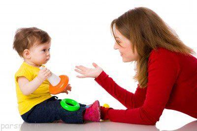چرا کودک ما حرف نمی زند؟