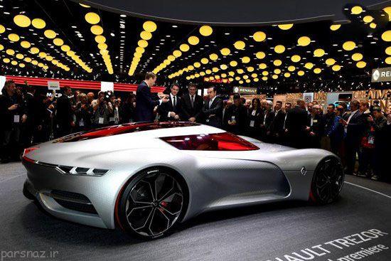 عکس ماشین های نمایشگاه پاریس