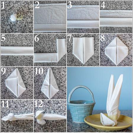 مدل های تزیین دستمال سفره زیبا و جدید