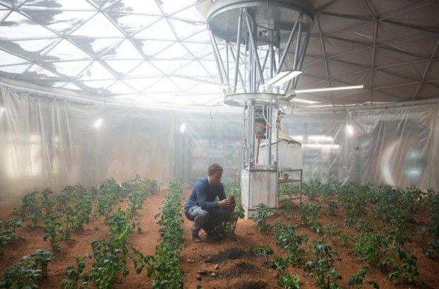 کشاورزی در مریخ و تحقیقات ناسا